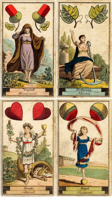 German SibillaCards 1818 Aces
